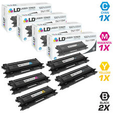 LD Remanufactured Brother TN115 5PK: 2 TN115BK/1 TN115C/1 TN115M/1 TN115Y