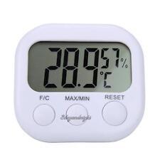 Digital LCD Thermometer Home Indoor Hygrometer Meter Gauge Temperature Humidity