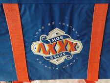 collectables super bowl 2001 gym bag 20 years old. never used
