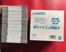 Dragon Ball GT Carddass White Box 100¥ PART 29 Full Set Gold 127 Double 151 NEW!
