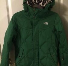 The North Face Womens Hooded Jacket -Ski/Snowboard - Lime Green