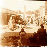 Maghreb Marocco Algeria Tunisia Marché, Foto - Vintage Placca Lente VR5L5n12