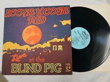BOOGIE WOOGIE RED: Live at Blind Pig BLUES vinyl lp RARE EX