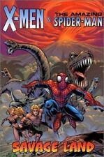 SAVAGE LAND X-Men & The Amazing Spider-Man (2002, 4th printing) Near Mint, 9.4