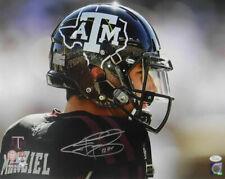 Johnny Manziel Autographed/Signed Texas A&M Aggies 16x20 Photo JSA 11224