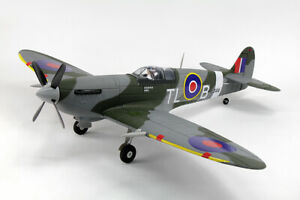 Dynam Spitfire EPO 1200mm PNP V2 Warbird Brushless LiPo WWII RC Flugzeug Modell