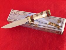 Chipaway Classics Hunting MINT/box Red Plains CW-3992IN fixed blade Sheath Knife