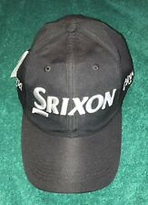 Srixon Cleveland Golf Hat -Baseball Cap-Tour Issue-Black-Silver Embroidery