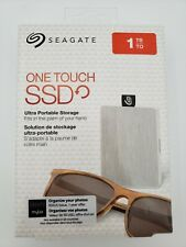 Seagate One Touch SSD 1TB Ultra Portable USB Hard Drive, For Windows & Mac ☆ New