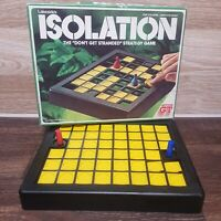 ISOLATION STRATEGY GAME VINTAGE 1978  COMPLETE AND ORIGINAL