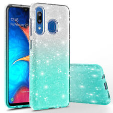 For Samsung Galaxy A20 / A30  Slim Shinning Bling Glitter Sparkle Case