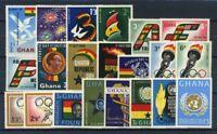 Ghana 1960 Mi. 73-93 Postfrisch 100% Sport, Kultur, Republik