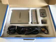 Audiovox DV1680 Portable DVD Player has Power Cord, Battery, Earphones Orig Box