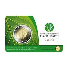 2 euro commémorative Belgique 2020 BU - Santé des plantes - Légende française
