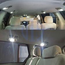 14 x White LED Interior Bulbs License Plate Light For 2004-2017 2018 2019 Sienna