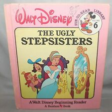 Disney Fun To Read Vol. 6 The Ugly Stepsisters (1985, Hardcover)
