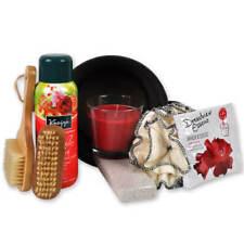 Wellness Geschenk-set Rosenzauber mit Badeessenz und Duftkerze sowie Schaumbad