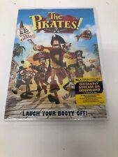 NEW, sealed The Pirates! Band of Misfits (DVD + digital copy, 2012, Aardman)