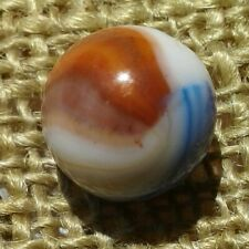 """5/8"""" Early Vitro Aquamarine Marble In Mint Condition Check Photos."""