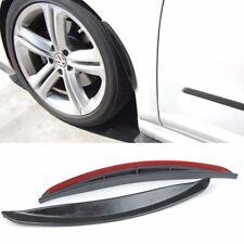 1 Pair Black Diffuser Fender Flares Lip For VW Fender Wheel Wall Panel Bumper
