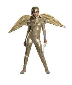 Wonder Woman Golden Armor Costume Women's Medium 8-10 WW84 NWT