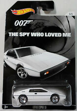 HOT WHEELS JAMES BOND THE SPY WHO LOVED ME LOTUS ESPRIT S1 DIE CAST CAR 5 / 5