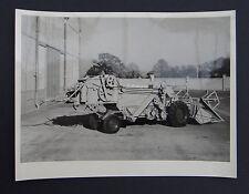 Photo ancienne BRAUD moissonneuse batteuse A2080 tractor tracteur Traktor 12