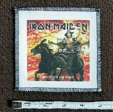IRON MAIDEN ENGLISH HEAVY METAL CANVAS BAND PATCH DEATH ON THE ROAD