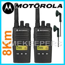 8 Km Motorola XT460 Walkie Talkie Dos Vías PMR 446 Negocios Militar Radio Doble