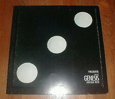 Genesis 1986 Invisible Tour Program Nm-/Nm