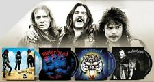 MOTORHEAD - 8 CD BUNDLE - 123 TRACKS - DOUBLE DISC DELUXE EDITIONS -  REMASTERED