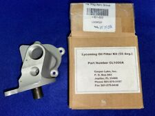 P/N Cl1000A Casper Labs Lycoming Oil Filter Adapter (for experimental aircraft)