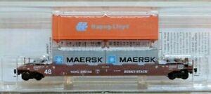 Micro Trains Line Z 540 00 082 Gunderson Husky Stack Well Car NW Oklahoma New