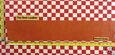 """AUTHENTIC HORWEEN BOLD ORANGE ESSEX 4/5 oz LEATHER HIDE 27""""x5"""" 2ND QUALITY"""