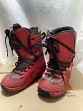 Forum Destroyer Snowboard Boots Size 11 Red Has Wear But Rare ! Free Shipping