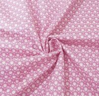 Pink Tulips French Cottage 100% Cotton Fabric Gutermann Home Decor Flowers Craft