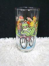"""McDonald's The Great Muppet Caper Kermit the Frog 5.75"""" Drinking Glass/Tumbler"""