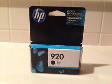 HP 920 Black Ink Cartridge (CD971AN) - Exp. 12/17