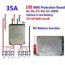 10S 35A 36V Li-ion Lipolymer Battery BMS PCB protect Balance for Ebike Escooter
