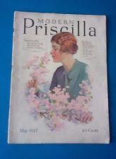 ~MODERN PRISCILLA~ TWENTY MAY, 1927  (ACCEPTABLE  COLLECTOR'S CONDITION)