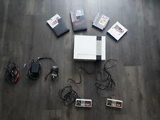 Nintendo Entertainment System NES mit 4 Spielen (Rygar, Kickle Cubickle, u.w.)