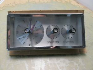 NOS GE oven range clock timer 3ast23a203a1 [3*H.5-3]