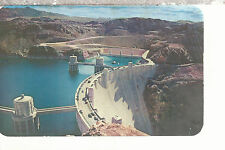 Hoover (Boulder) Dam  Seen From The Nevada Side of Black Canyon   Postcard 11117