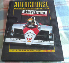 AUTOCOURSE INTERNATIONAL MOTOR RACING ANNUAL 1988-89