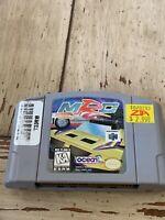 MRC Racing N64 Nintendo 64 Authentic OEM Game Tested & Works