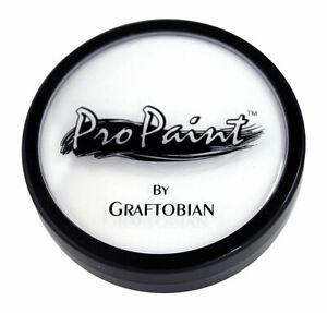 Graftobian ProPaint Professional Face & Body Paint Pro Makeup White Swan 1oz