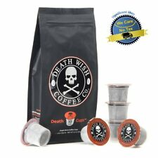 Death Wish Ground Coffee The World's Strongest Coffee Fair Trade and USDA S Bean