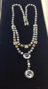 1920s Paste Necklace