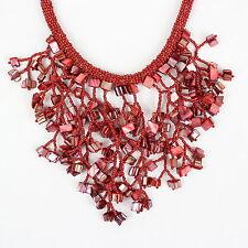 Handgefertigte Modeschmuck-Halsketten & -Anhänger aus Stein