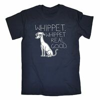 Whippet Real Good T-SHIRT Dog 80S Party Techno Electronic birthday fashion gift